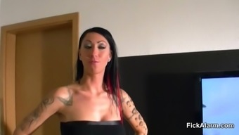 German Step-sister caught NOT Step-brother Masturbat  Helps