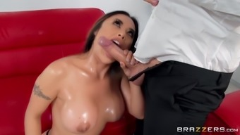 Kaylani Lei is a tattooed chick in need of a hunk's dick