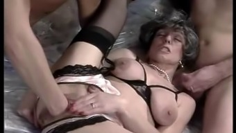 Colette Sigma - Mature fucked by 2 Young Boys