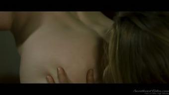 Really hot nun Nina Hartley desires to tease wet pussy a bit