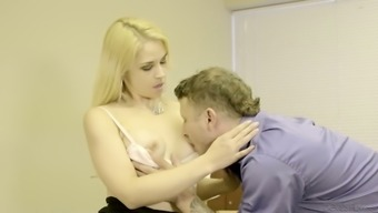 Sexually charged babe Sarah Vandella is having passionate sex with her man