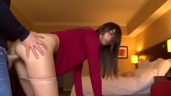 She makes him cum twice,swallows it all