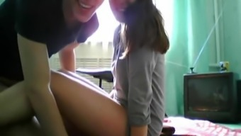 Naughty students get crazy on cam