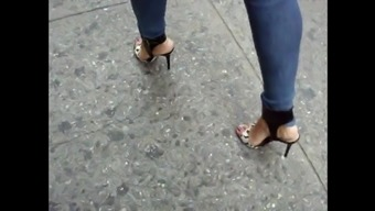 Candid Leather (Skinny Jeans and Stilettos)