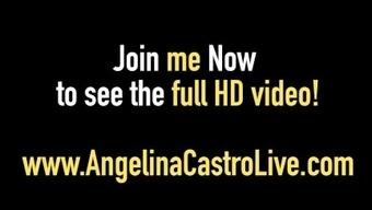 Cuban Princess Angelina Castro Fucks & Sucks Sara Jay's Man!