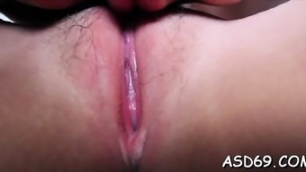 Bitchy thai sweetheart gets her pussy permeated unfathomable