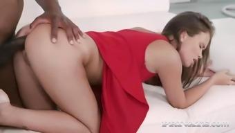 flamboyant russian cutie jenny fer lets mandingo own her little ass