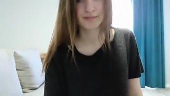 Busty Webcam Beauty Does A Striptease