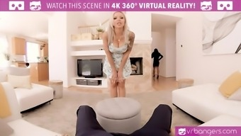 Will you fuck the sexy Nina Elle to sell the house? Wear your VR goggles and do that in VR