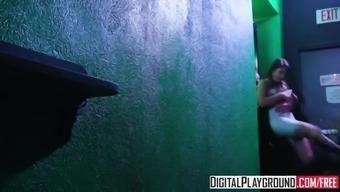 XXX Porn video - Girls Go Clubbing Adria Rae and Natalia Sta