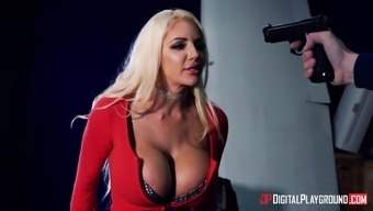 Jasmine Jae and Nicolette Shea are nasty babes in need of a cock