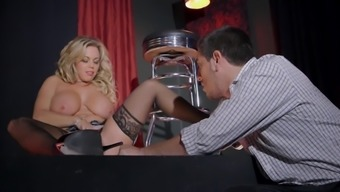 Uncle Dale Presents Amber Lynn Bach Fucking on Stage