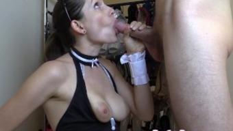 Lelu Love-Maid Keeps Job With Blowjob Facial