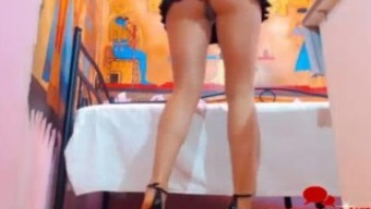 Long Legs High Heels Egyptian Babe