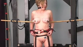 Rope bondage suspension is super sexy
