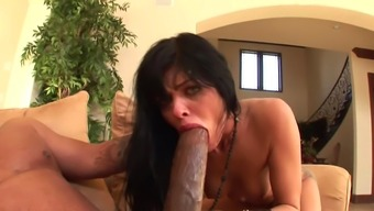 Sadie West gets nailed by monster cock