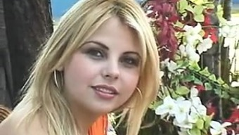 Beautiful Brazilian Blonde Anal Fucked