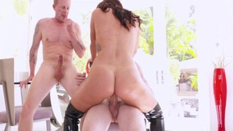 Keisha Grey DPd - She Can Handle The Cocks