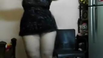 Arab BBW Girl Dancing Part 2