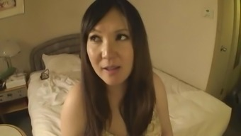 Asian pregnant shower
