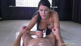 Breathtaking Peta is the best yoga cock rider in all of America!
