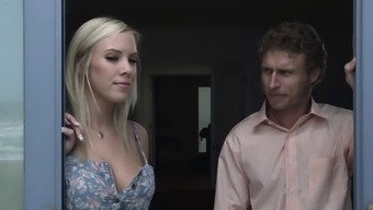 Naughty hot ass chick BiBi Jones fucks her sister's husband hardcore