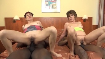 Two grannies doing nasty things