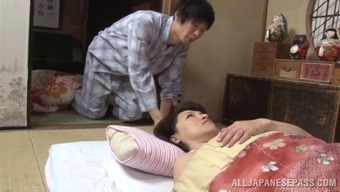 Lustful japanese mature babe Yuuri Saejima bounces on hot dick