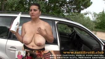 BBW Deborah car park public casting