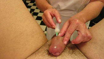 Cock injections, toys, Super nurse part 3 of 2
