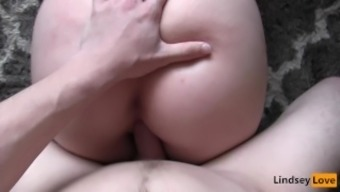 HUGE Creampie & Real Orgasm with LindseyLove