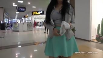 Naughty Shopping and Public Flashing