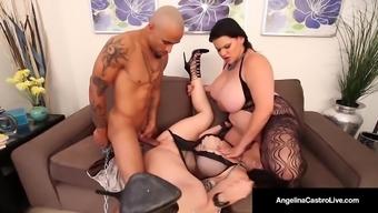 Cuban BBW, Angelina Castro & Sara Jay Are Submissive Slaves!