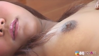 Naughty Pitzar enjoys spreading her pussy lips to the camera