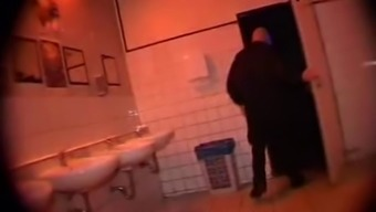 Anal sex with young Bea in the toilet