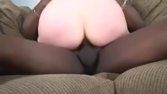 Older MILF Amy Enjoys Black Cock