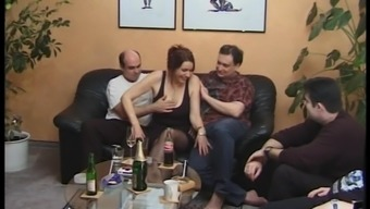 Mature swingers have a beautiful hardcore foursome