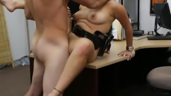 Bigtits police officer sex with pawn man
