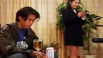 Drunk asian schoolgirl getting her pussy part4