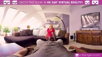 vr porn- katy rose lady in red