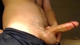 solo male jock w/ big dick fucks fleshlight