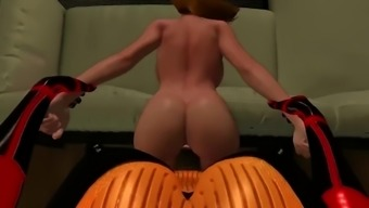 Red Apple 3D Futanari Compilation 2