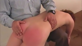 This coed has small tits and a really bad attitude, but nothing a good hard spanking wont solve