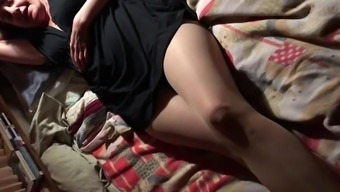 pantyhose covered pussy