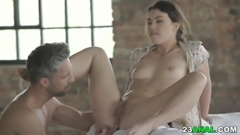 Tiffany Doll enjoys deep anal sex