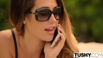 TUSHY Eva Lovia movie part 5 FIRST double penetration
