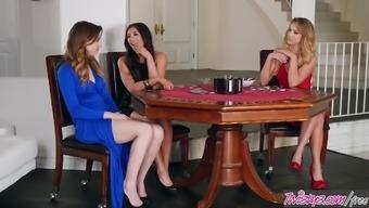 Twistys - Poke Her Face - Davina Davis,Alex Blake,Zoey Taylo