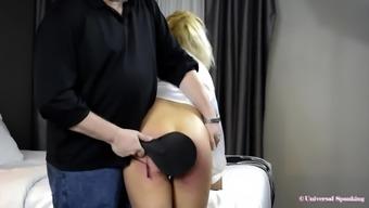 Spanked for Riding Rough! - (Bare Bottom Punishment)