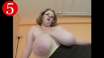 top 5 favorite huge tits compilation