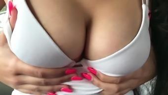Indian Teen boobs tease